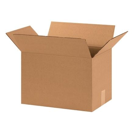 "Corrugated Boxes, 15 x 10 x 10"", Kraft"