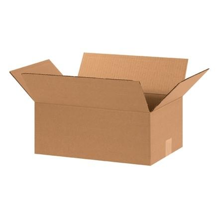 "Corrugated Boxes, 15 x 10 x 6"", Kraft"