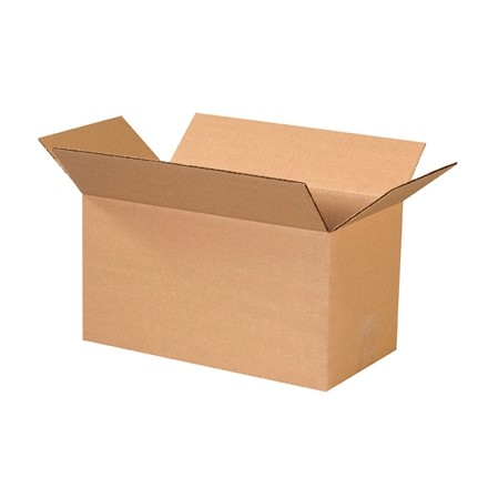 "Corrugated Boxes, 15 x 8 x 8"", Kraft"