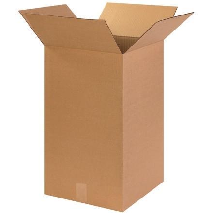 "Corrugated Boxes, 14 x 14 x 24"", Kraft"