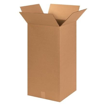 "Corrugated Boxes, 14 x 14 x 30"", Kraft"