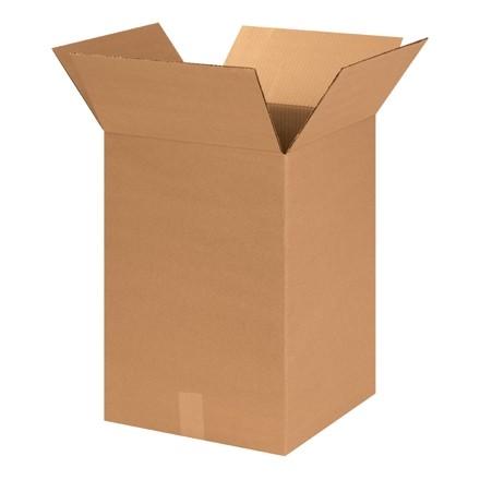 "Corrugated Boxes, 14 x 14 x 20"", Kraft"