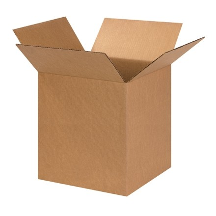"Corrugated Boxes, 14 x 14 x 16"", Kraft"