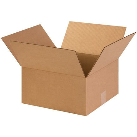 "Corrugated Boxes, 14 x 14 x 7"", Kraft"