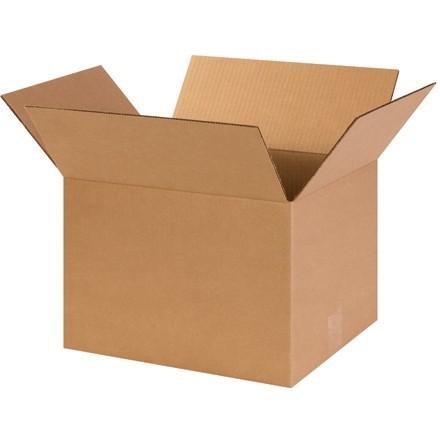 "Corrugated Boxes, 14 x 12 x 10"", Kraft"