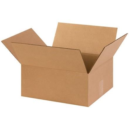 "Corrugated Boxes, 14 x 12 x 6"", Kraft"