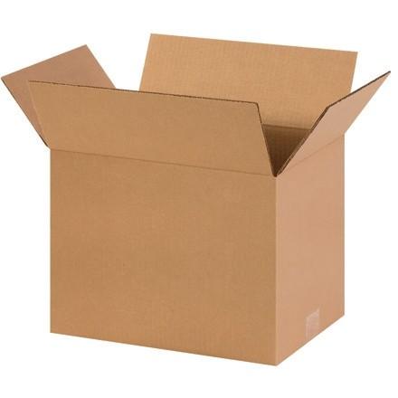 "Corrugated Boxes, 14 x 10 x 10"", Kraft"