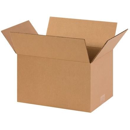 "Corrugated Boxes, 14 x 10 x 8"", Kraft"