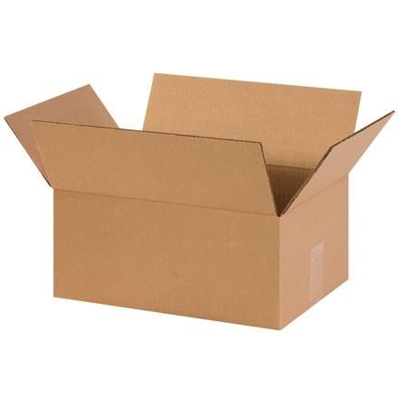 "Corrugated Boxes, 14 x 10 x 6"", Kraft"