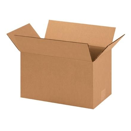 "Corrugated Boxes, 14 x 8 x 8"", Kraft"