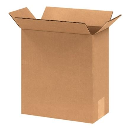 "Corrugated Boxes, 8 x 4 x 12"", Kraft"