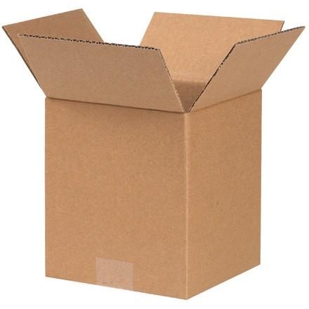 "Corrugated Boxes, 7 x 7 x 8"", Kraft"