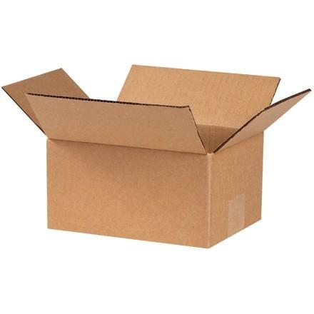 "Corrugated Boxes, 7 x 6 x 4"", Kraft"