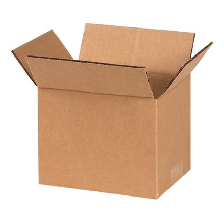 "Corrugated Boxes, 7 x 5 x 5"", Kraft"