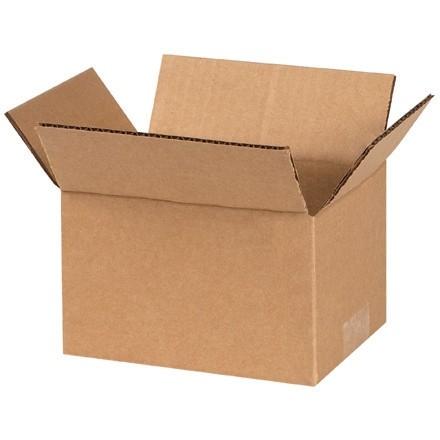 "Corrugated Boxes, 7 x 5 x 4"", Kraft"