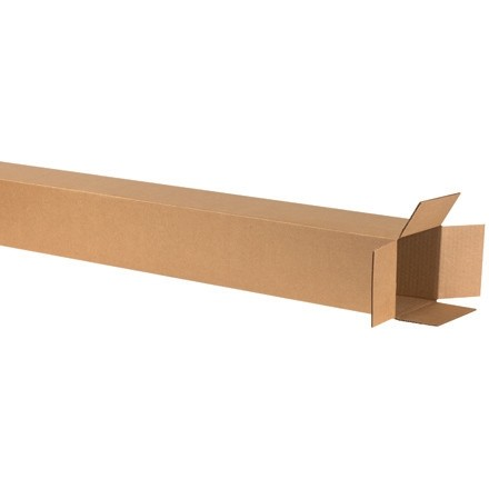 "Corrugated Boxes, 6 x 6 x 60"", Kraft"