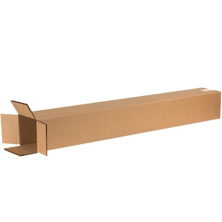 "Double Wall Corrugated Boxes, 6 x 6 x 48"", 48 ECT"