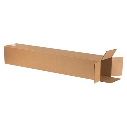 "Corrugated Boxes, 6 x 6 x 38"", Kraft"