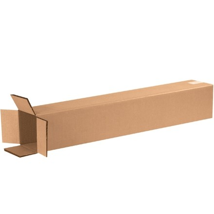 """Double Wall Corrugated Boxes, 6 x 6 x 36"""", 48 ECT"""