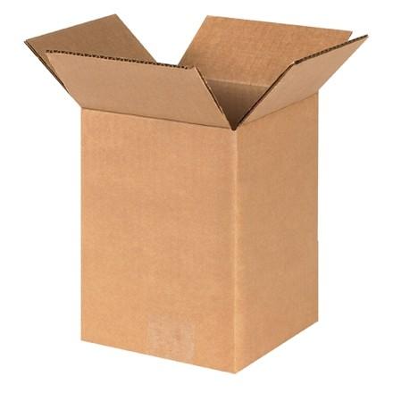 "Corrugated Boxes, 6 x 6 x 8"", Kraft"