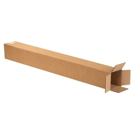 "Corrugated Boxes, 5 x 5 x 36"", Kraft"