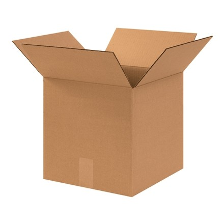 "Corrugated Boxes, 12 x 12 x 12"", Heavy Duty, Cube"