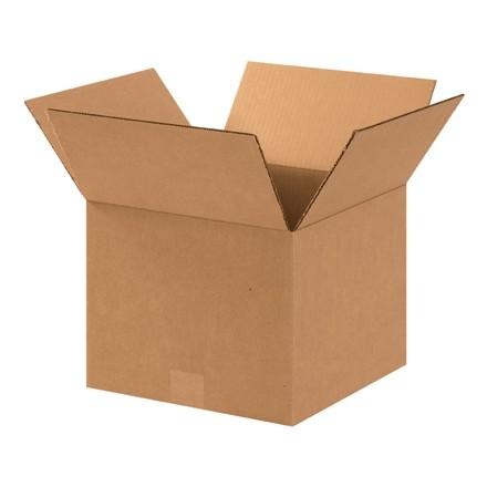 "Corrugated Boxes, 12 x 12 x 9"", Kraft"
