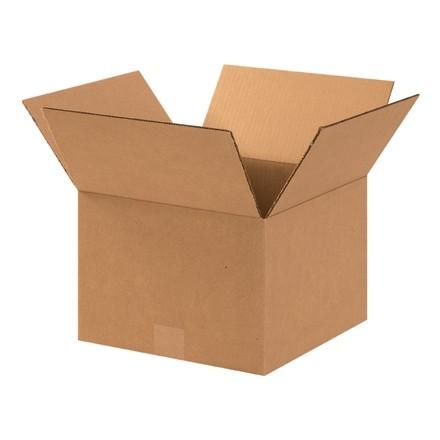 "Corrugated Boxes, 12 x 12 x 8"", Kraft"