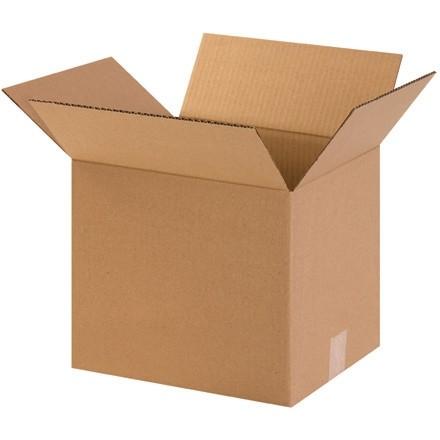 "Corrugated Boxes, 12 x 10 x 10"", Kraft"