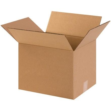 "Corrugated Boxes, 12 x 10 x 9"", Kraft"