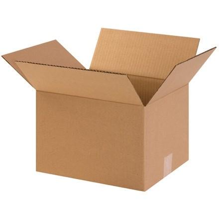 "Corrugated Boxes, 12 x 10 x 8"", Kraft"