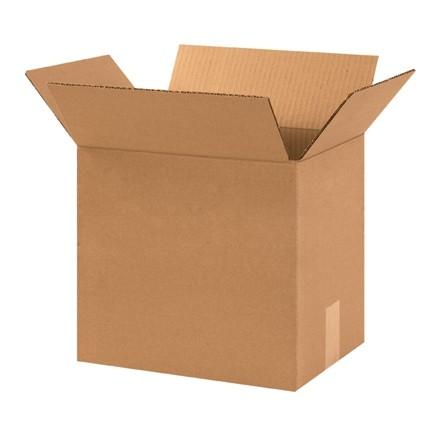 "Corrugated Boxes, 12 x 9 x 10"", Kraft"