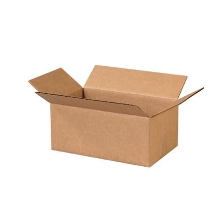 "Corrugated Boxes, 12 x 7 x 5"", Kraft"