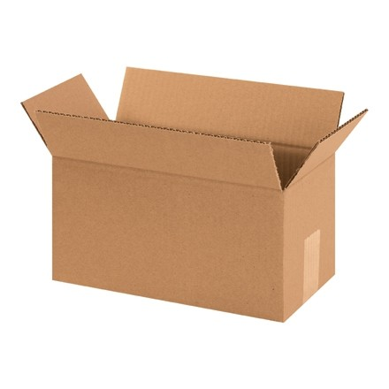 "Corrugated Boxes, 12 x 6 x 6"", Kraft"