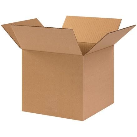 "Corrugated Boxes, 10 x 10 x 9"", Kraft"