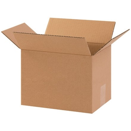 "Corrugated Boxes, 10 x 7 x 7"", Kraft"