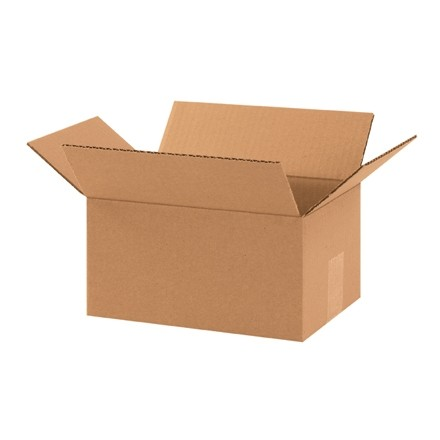 "Corrugated Boxes, 10 x 7 x 5"", Kraft"