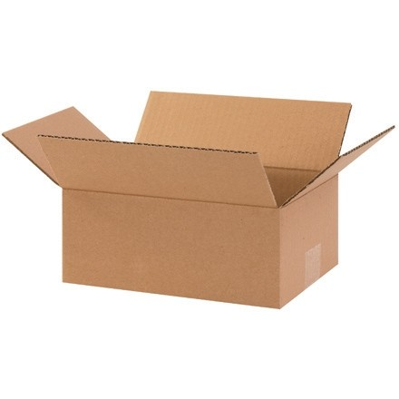 "Corrugated Boxes, 10 x 7 x 4"", Kraft"