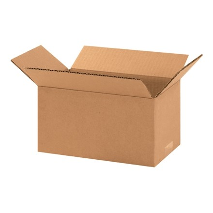 "Corrugated Boxes, 10 x 6 x 5"", Kraft"