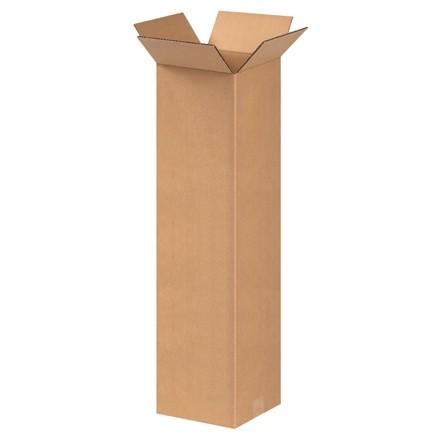 "Corrugated Boxes, 9 x 9 x 30"", Kraft"