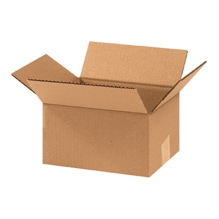 "Corrugated Boxes, 9 x 7 x 5"", Kraft"