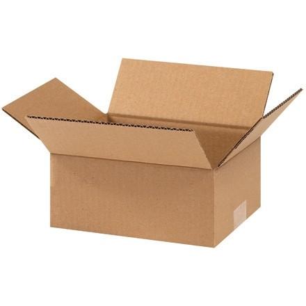 "Corrugated Boxes, 9 x 7 x 4"", Kraft"