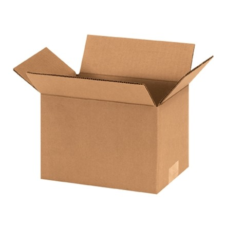 "Corrugated Boxes, 9 x 6 x 6"", Kraft"