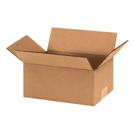 "Corrugated Boxes, 9 x 6 x 4"", Kraft"