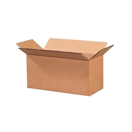 "Corrugated Boxes, 9 x 4 x 4"", Kraft"