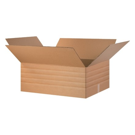 Corrugated Boxes, Multi-Depth, 30 x 24 x 12""