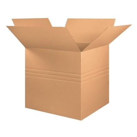 "Corrugated Boxes, Multi-Depth, 36 x 36 x 36"", Kraft"