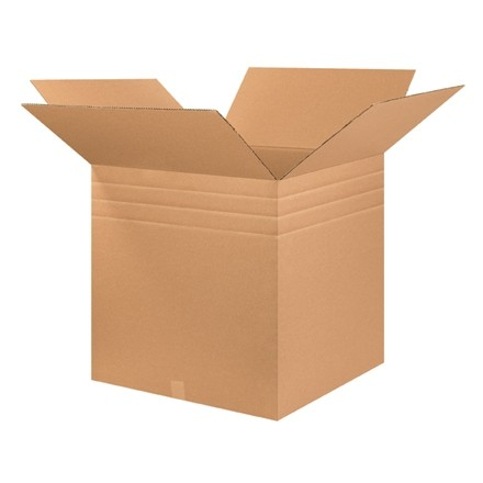 "Corrugated Boxes, Multi-Depth, 26 x 26 x 26"", Kraft"