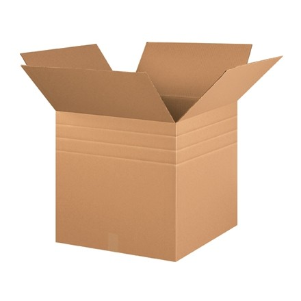 "Corrugated Boxes, Multi-Depth, 20 x 20 x 20"", Kraft"