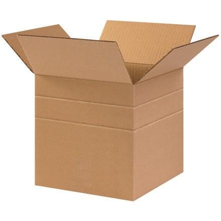"""Corrugated Boxes, 10 x 10 x 10"""", Multi-Depth, Cube"""